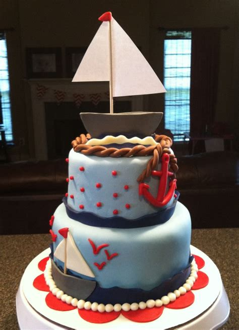 Nautical Baby Shower Cakes by Nautical Theme Baby Shower Cake Baby Shower Ideas