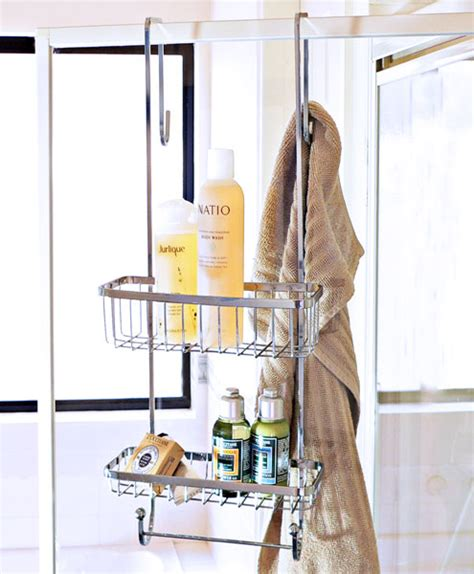 Shower Caddy Hook Shower Screen by New Stainless Steel Screen Shower Caddy With Hooks Ebay