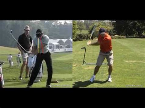 right sided swing driver stack tilt vs right sided swing youtube
