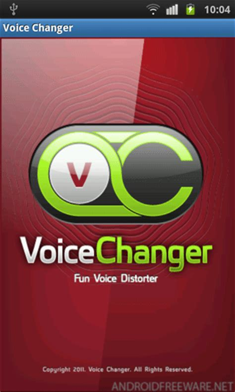 voice app android voice changer free free app android freeware
