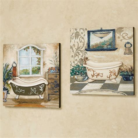 bathroom wall art ideas decor salle de bain bathroom wall art set