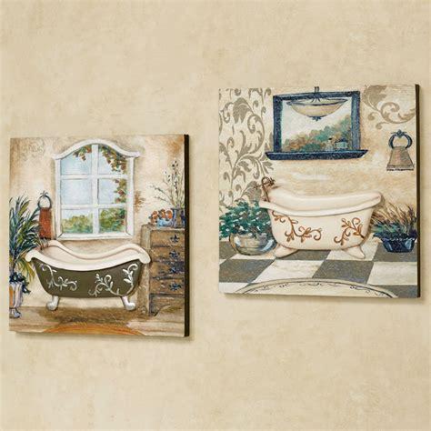 art for bathroom walls salle de bain bathroom wall art set