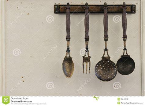 vintage kitchen utensils stock photo image 36147070