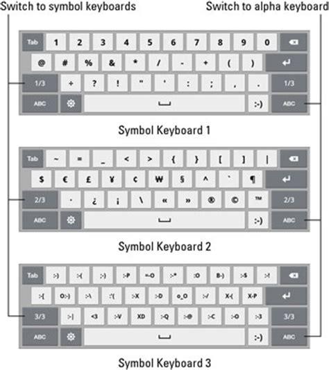 keyboard layout galaxy s5 how to access symbols on the galaxy tab onscreen keyboard