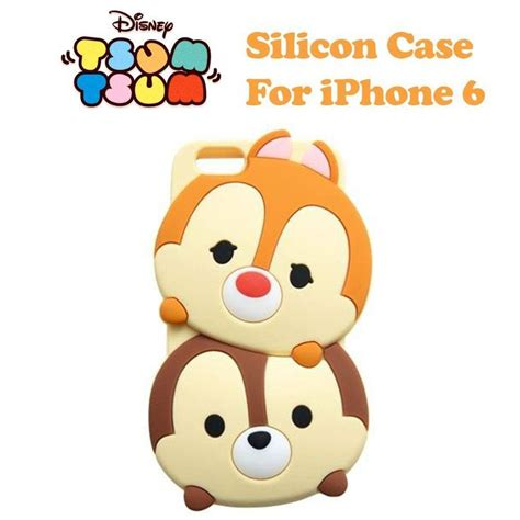 disney genuine tsum tsum chip dale silicon soft