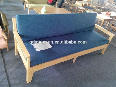 extension pine sofa bed with high quality foam fabric pine