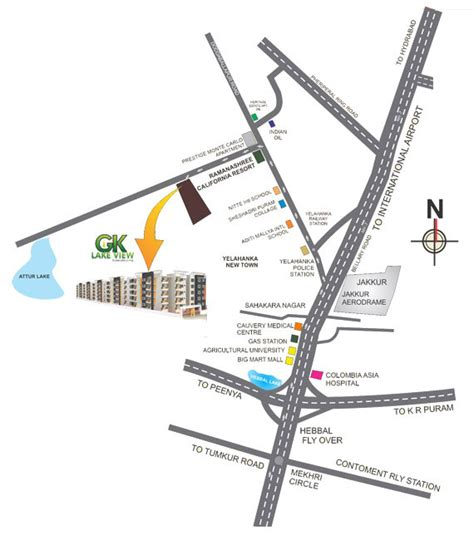lake view layout yelahanka gk lake view in doddaballapur road bangalore by gk