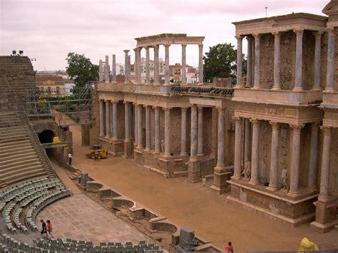 espaa romana roman file teatro romano de m 233 rida badajoz espa 241 a 01 jpg