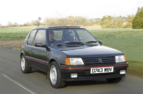 peugeot car history history of the peugeot 205 gti picture special autocar