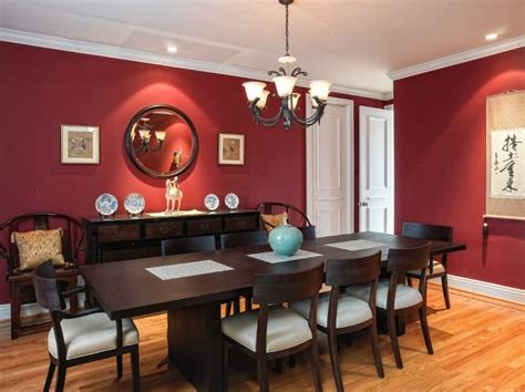red dining room ideas