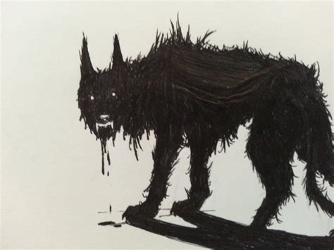 hound of hell crowley s hell hound by black19chevy67impala on deviantart