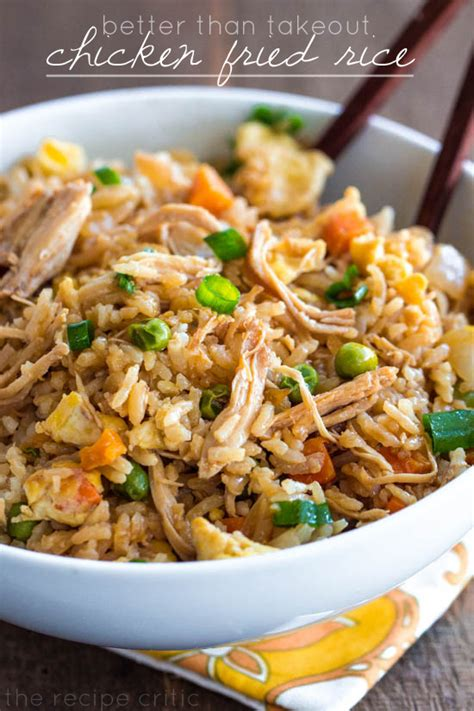 Romantic Dinner Recipes by Better Than Takeout Chicken Fried Rice The Recipe Critic