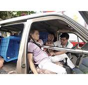 Chinese Man Speared Through Chest With Steel Pole In Car