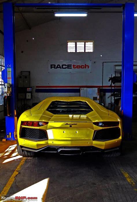 Lamborghini Aventador Upgrades Lamborghini Aventador Upgrade By Racetech India Team Bhp