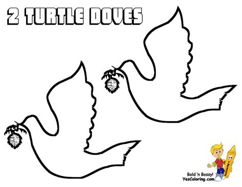 turtle dove template dove coloring sheet
