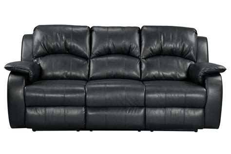 Leather Bonded Sofa Tahoe Bonded Leather Reclining Sofa At Gardner White