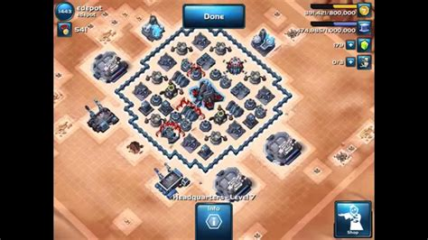 layout manager star wars commander star wars commander ver 1 best lvl 7 hq base layout