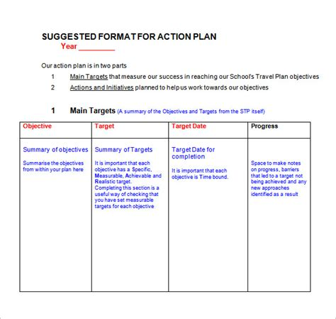 Remedial Plan Template by Plan Template 109 Free Word Excel Pdf