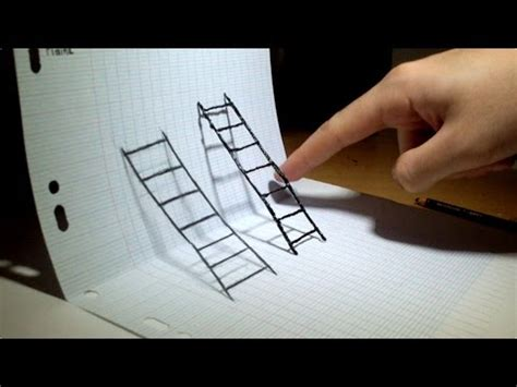 4d Sketches by Optical Illusion 4d