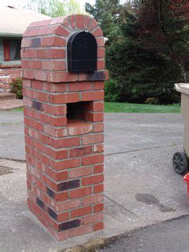 how to decorate a square brick mailbox for christmas brick mailbox design ideas pictures remodel and decor page 3 for the home
