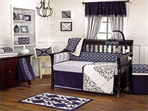 Black And White Boy Crib Bedding Black And Baby Bedding Home Design Remodeling Ideas