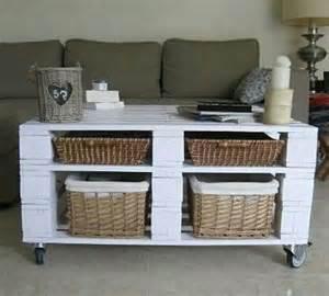 mesa de centro de madera tarimas