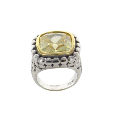 large yellow cut ring best of everything