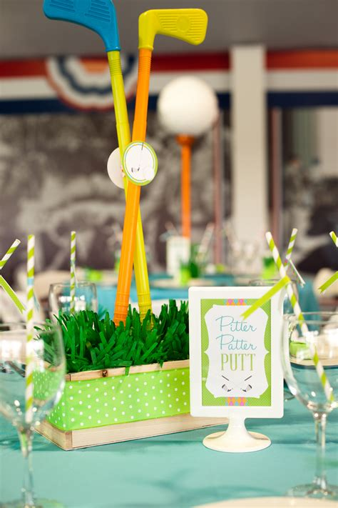 Golf Themed Baby Shower by Operation Shower Celebration Quot Fore Quot Baby