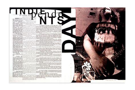 typography magazine with graphic designer david carson