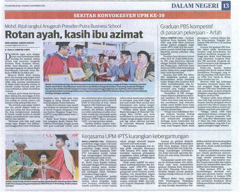 Mba Corporate Governance Upm by Sekitar Konvokesyen Upm Ke 39 Putra Business School