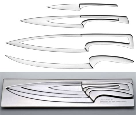 nesting kitchen knives nested knives deglon nested knives are so