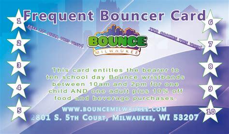 Bounce Gift Card - bounce milwaukee gift cards