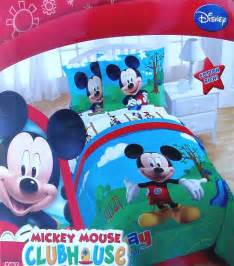 mickey mouse twin bedding disney mickey mouse play day twin comforter sham bedskirt 3pc bedding set new ebay