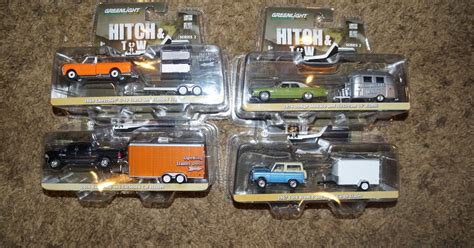 Topi Trucker Nai K9 Ps greenlight 32020 1 64 scale hitch tow series 2 complete set of 4 dodge monaco with airstream