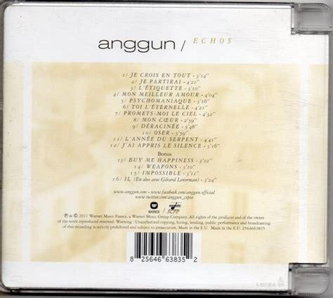 Cd Anggun Echoes Original anggun echoes ltd edition cd opus3a