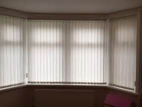 vertical blinds for bay window in barry vale of bow window blinds