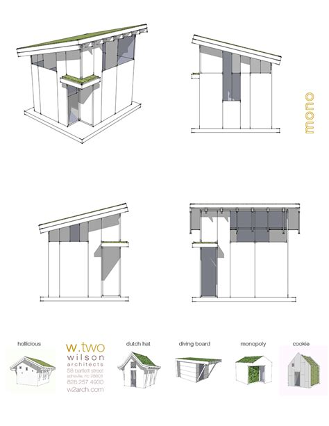 Roof Plans by Green Roof Plans Wilson Architects Inc