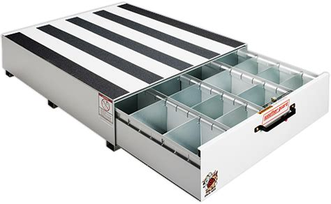 truck tool boxes pull out drawers weatherguard pack rat tool boxes packrat drawer units