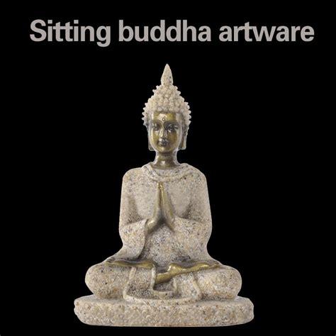 buddhist sakyamuni buddha statue home garden decor resin thailand buddha statue home office decoration resin
