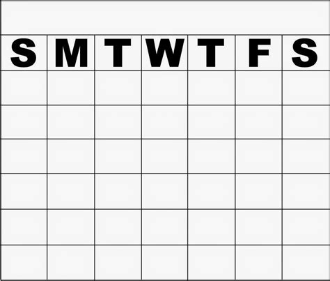 Monday To Sunday Calendar Template search results for printable monday through sunday