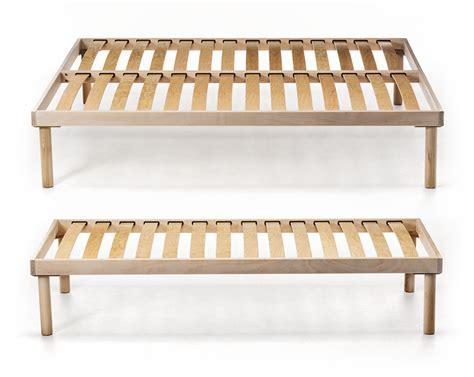 basi letto doghe letto base in legno sintesy zigflex