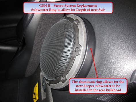 Speaker Acr Ring new stereo system install ii rt 10