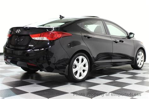 Used Hyundai Elantra by 2013 Used Hyundai Elantra Elantra Limited Sedan At