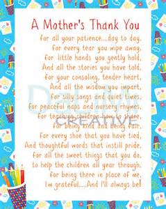 Thank You Letter To Kindy Appreciation Print End Of Year Teachers By Dalimicreative