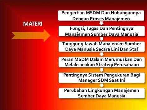 Organisasi Dan Msdm msdm