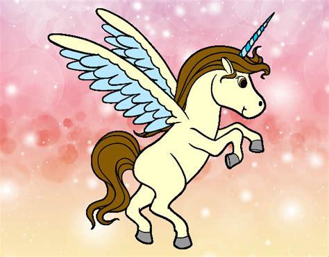 imagenes de animales unicornios dibujo de unicornio pintado por ana0010 en dibujos net el