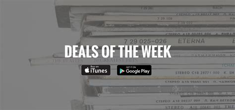 Deal Of The Week 25 At Gorjanacom by Deals Of The Week Itunes Play Sales