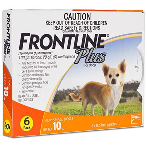 frontline plus for small dogs frontline plus small dogs up to 10kg