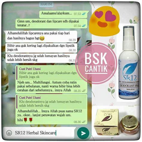 Masker Kefir Sr12 sr12 herbal skincare home