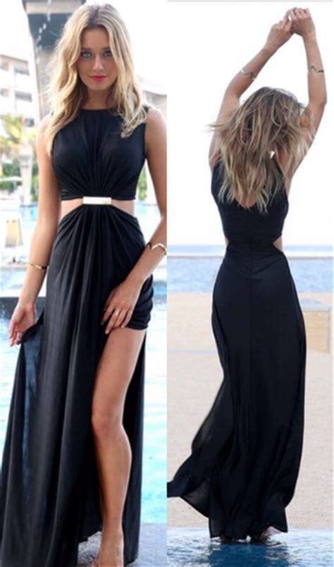 Maxi Dinna sabo skirt maxi dress blackmaxidress graduation
